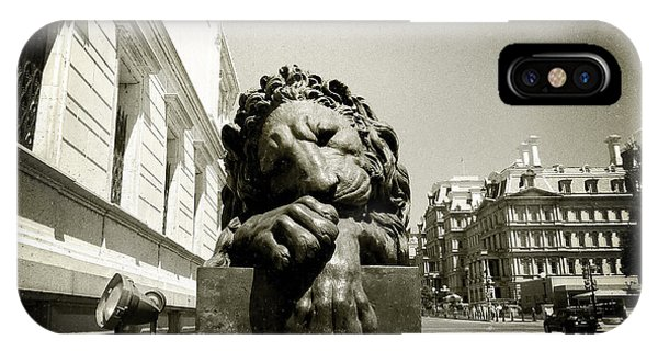 Corcoran Lion IPhone Case