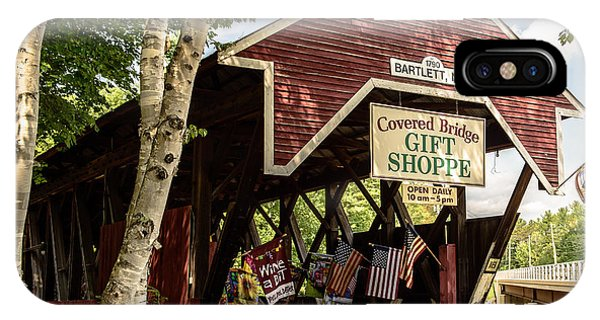 Covered Bridge Gift Shoppe IPhone Case