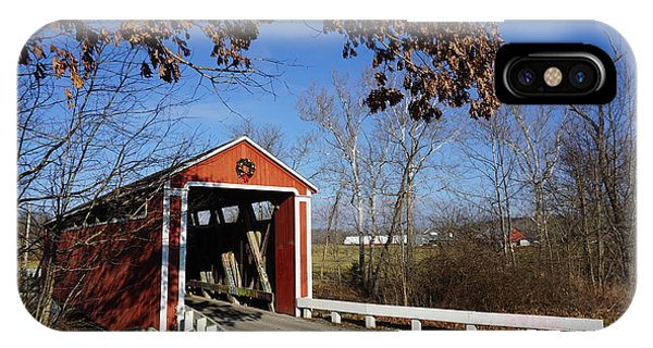 iPhone Case - Covered Bridge by Red Cross