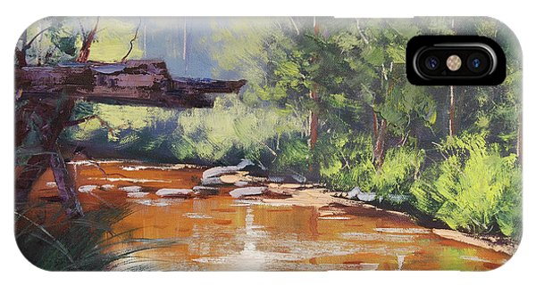 Nature Scene iPhone Case - Coxs River Bank by Graham Gercken