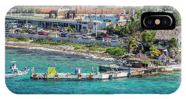 Carribbean iPhone Case - Cozumel Coastline  by Betsy Knapp