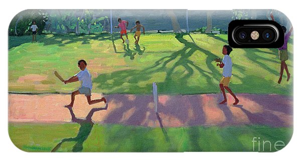 Cricket iPhone Case - Cricket Sri Lanka by Andrew Macara