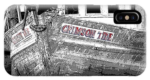 Crimson Tide IPhone Case