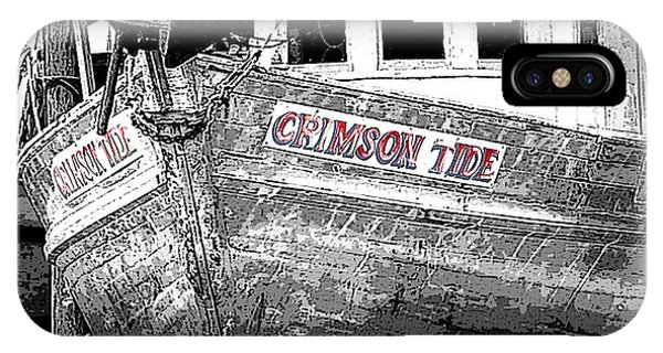 Crimson Tide IPhone Case