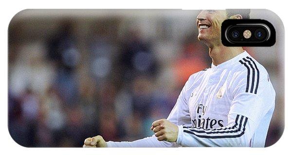 Cristiano Ronaldo iPhone Case - Cristiano Ronaldo 28 by Rafa Rivas