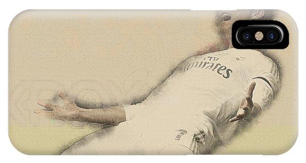 Wayne Rooney iPhone Case - Cristiano Ronaldo Reacts by Don Kuing
