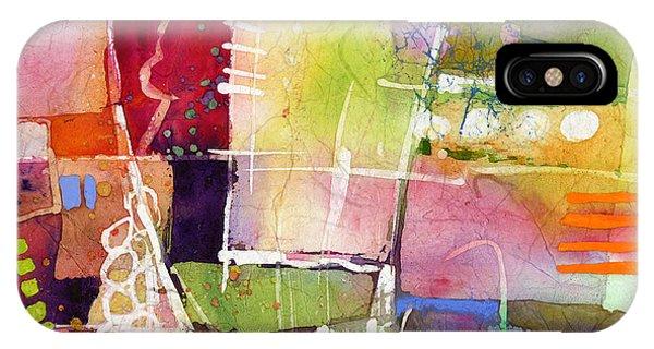 Cross iPhone X Case - Crossroads by Hailey E Herrera