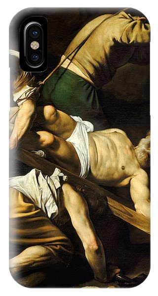 Crucifixion iPhone Case - Crucifixion Of Saint Peter by Caravaggio