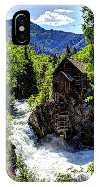 Crystal Mill Near Marble IPhone Case