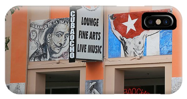 Cubacho Lounge IPhone Case