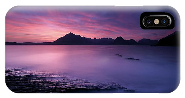 Cuillins At Sunset IPhone Case