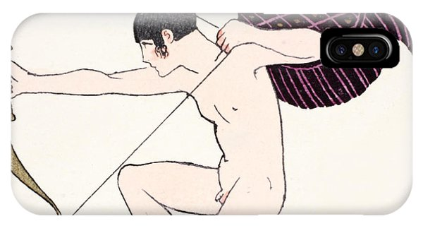 Cupid iPhone Case - Cupid by Georges Barbier