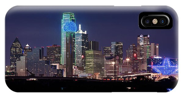 Dallas Skyline Cowboys IPhone Case