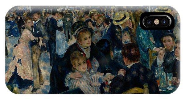 Dance At Le Moulin De La Galette  IPhone Case