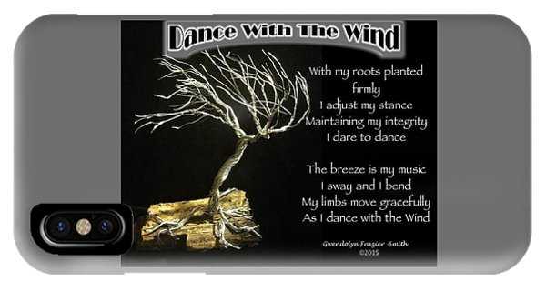 Dance With The Wind IPhone Case