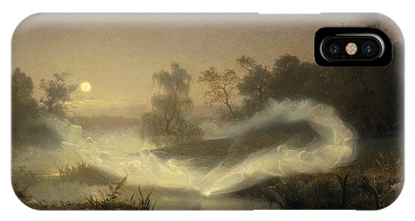Swedish Painters iPhone Case - Dancing Fairies by August Malmstrom