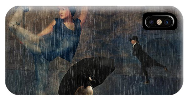 Dancing In The Rain IPhone Case