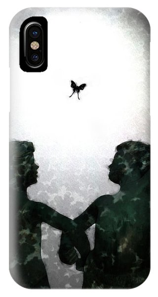 Dancing Silhouettes IPhone Case