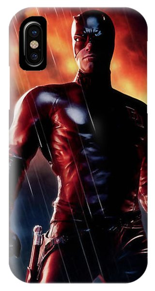 Ben Affleck iPhone Case - Daredevil Collection by Marvin Blaine