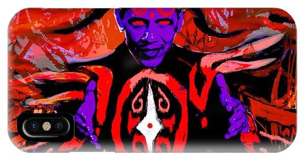 Dark Obamatar IPhone Case