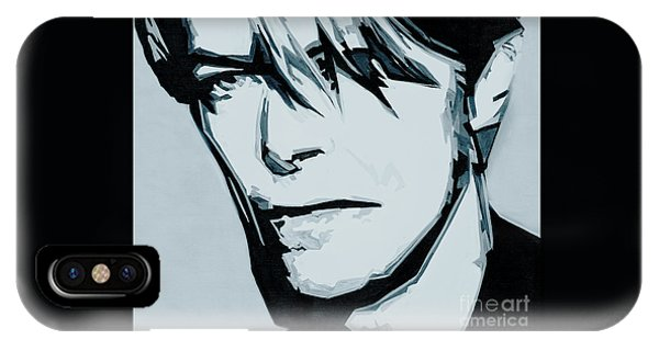 Born Under A Stone Born With A Single Voice. Bowie IPhone Case