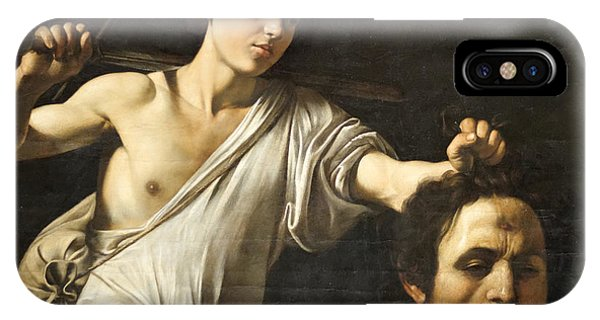 David With The Head Of Goliath IPhone Case