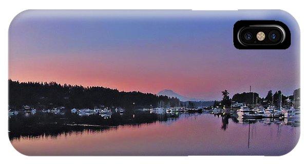 Dawn At Gig Harbor IPhone Case