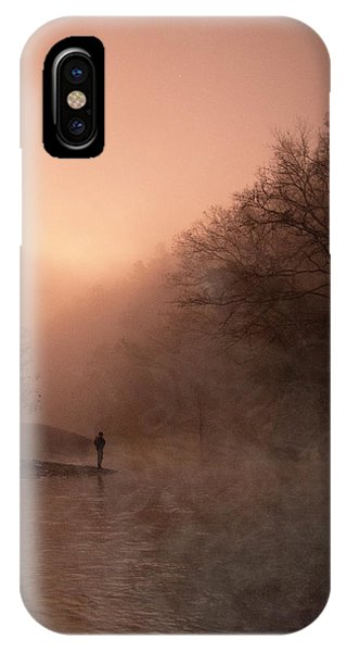 Dawn On The Lower Mountain Fork River IPhone Case