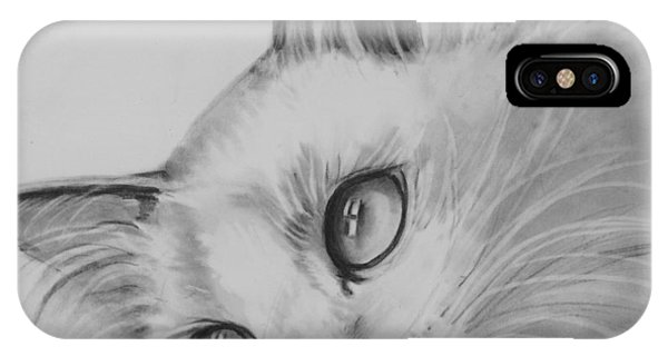 Daydreaming Kitty IPhone Case