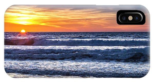 Sunset - Del Mar, California View 1 IPhone Case