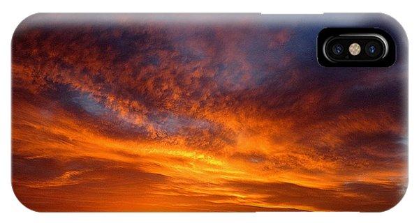 Adam Jones iPhone Case - Desert Sunset  by Adam Photohog Jones
