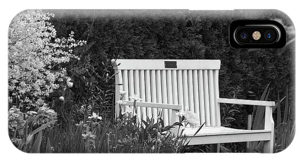 Desolate In The Garden IPhone Case