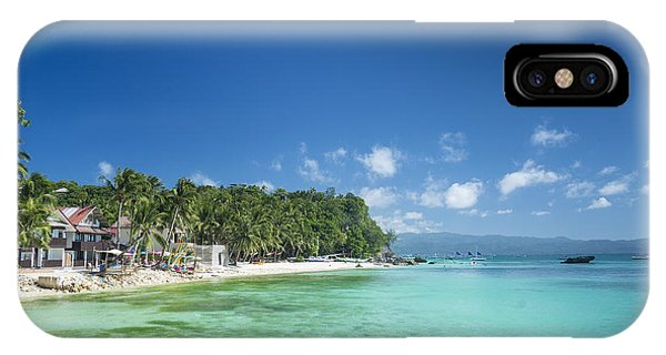 Diniwid Beach In Tropical Paradise Boracay Philippines IPhone Case