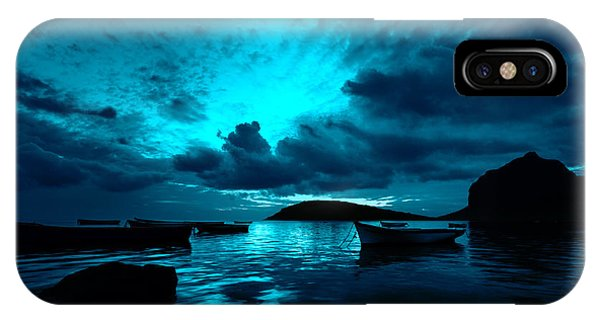 Docked At Dusk IPhone Case