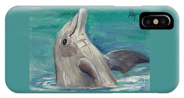 Dolphin Aceo IPhone Case
