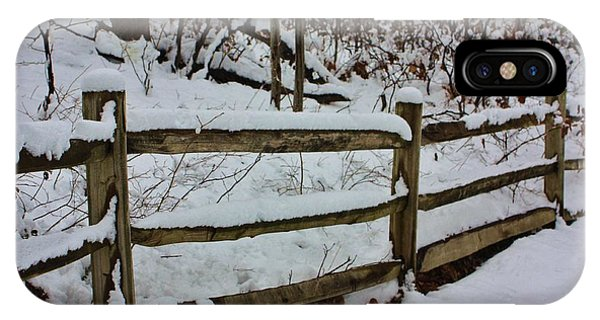 Catoctin Mountain Park iPhone Case - Dont Fence Me In by Chuck  Hicks