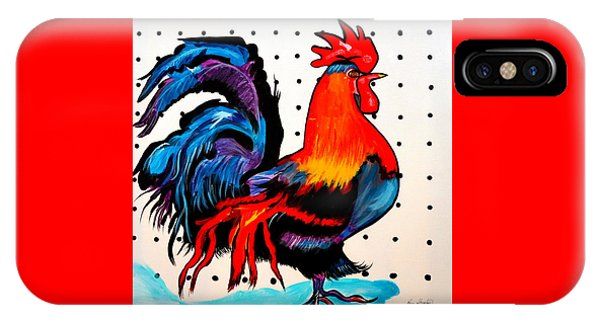 Doodle Do Rooster IPhone Case