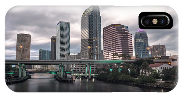 Downtown Tampa IPhone Case