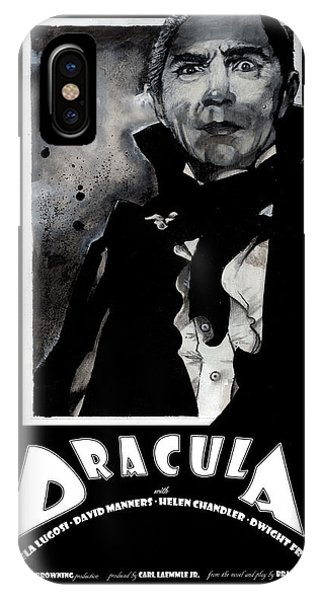 Dracula Movie Poster 1931 IPhone Case