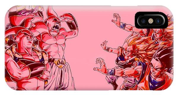 iPhone Case - Dragon Ball Z by Eloisa Mannion