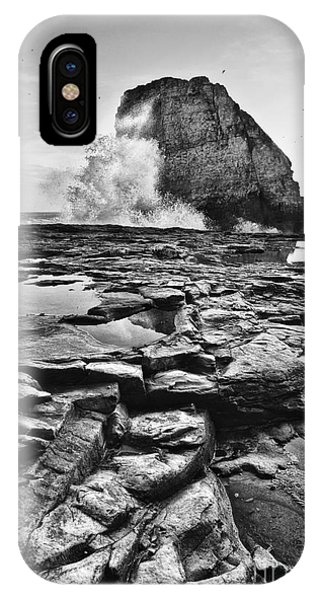 Dramatic View Of Shark Fin Cove IPhone Case