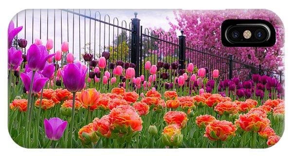 Dreamy Tulip Garden IPhone Case