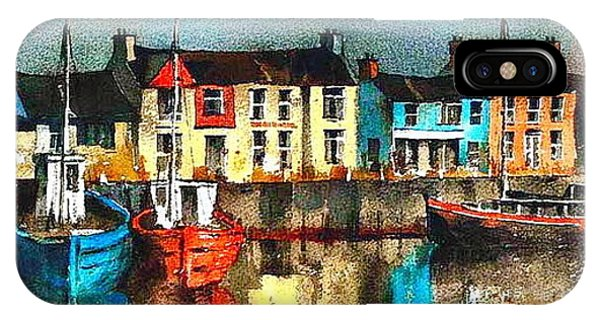Dublin ... Skerries Harbour IPhone Case