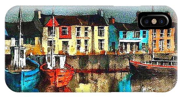 Dublin ... Skerries Harbour IPhone Case