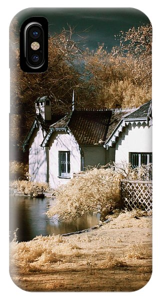 Duck Island Cottage IPhone Case