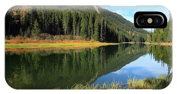 Duffey Lake Reflection In Autumn Phone Case by Pierre Leclerc Photography