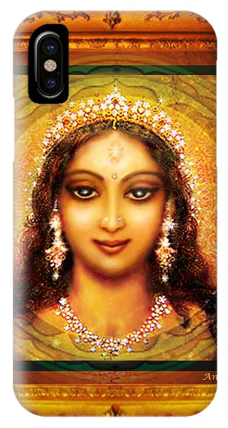 Durga In The Sri Yantra  IPhone Case