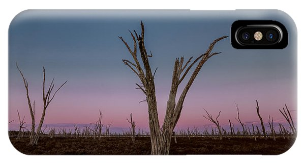 IPhone Case featuring the photograph Dusk At Dumbleyung Lake by Julian Cook