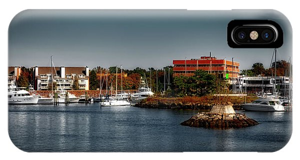 Stamford iPhone Case - Dyke Park Marina by Mountain Dreams