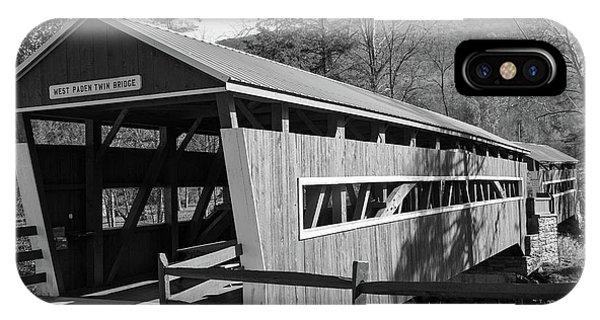 East And West Paden Twin Bridge IPhone Case